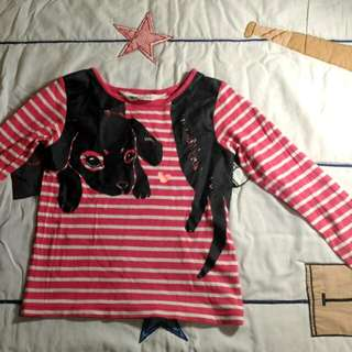 H&M Long Sleeve Shirt (Pink)