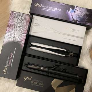 100% Authentic GHD Platinum Styler