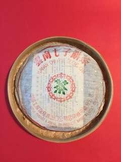1994 年野生大葉普洱青餅茶