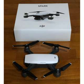 DJI Spark Alpine White Standard Package