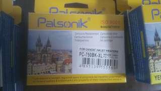 Canon MX927 Ink  751BK 4pcs. 750BK 1pcs. 751Y 2pcs