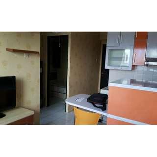 Apartemen bualanan 2BR full furnish sudah berisikan water heater