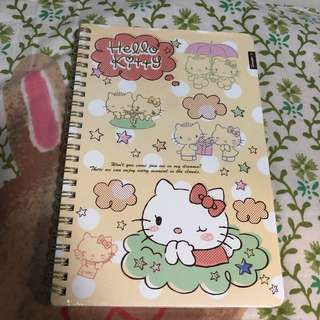 Sanrio Kitty notebook 筆記簿