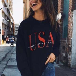 brandy melville usa sweatshirt