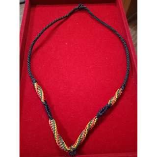 Hand Made Amulet Necklace