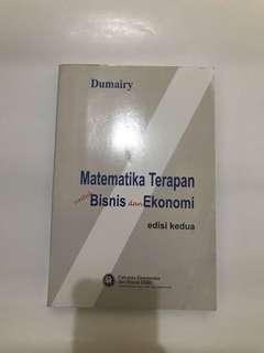 Matematika terapan untuk bisnis & ekonomi