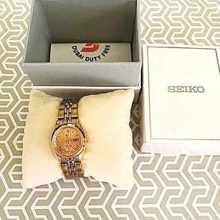 💝Sale Seiko 5 Ladies Watch-Gold Color