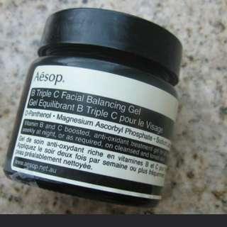 Aesop B Triple C Facial Balancing Gel B三倍C肌膚調理凝露