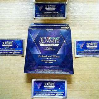 Crest 3D whitestrips 美白牙貼