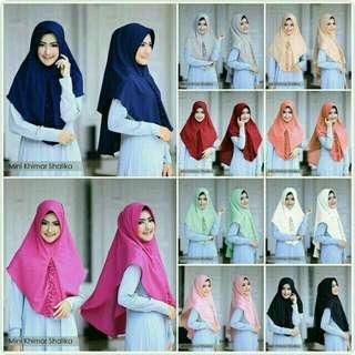 AZR - 0318 - Kerudung Hijab Instant Mini Khimar Shalika