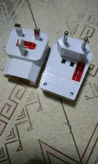 Travel Adaptor for multiple countries with USB