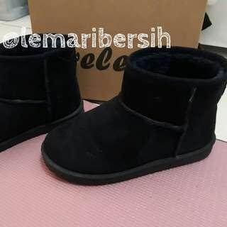 [Free Ongkir] Sepatu Boot Spring/Winter Velen Navy