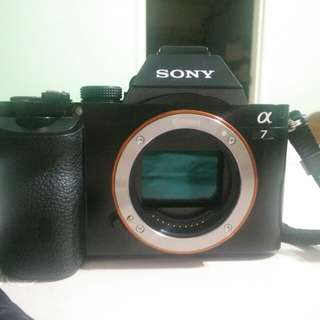Sony A7 mark 1 (Body only) 2.5 years like new!!