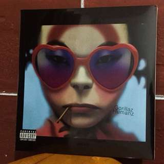 Humanz Gorillaz Vinyl Record Plaka LP Long Playing