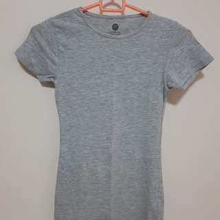Preloved Cotton On Grey Top