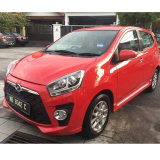Perodua Axia 1.0 (M) Advanced SE Warranty LIKENEW