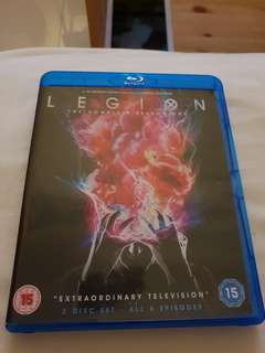 Legion season 1 Blu-ray series