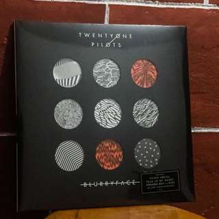 Blurryface Twenty One Pilots Vinyl Record Plaka LP Long Playing