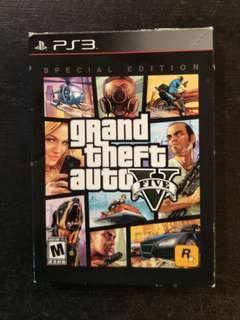 PS3 GTA V Steelbook Box Set