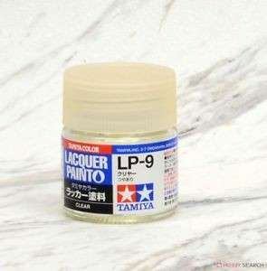 Lacquer Clear Paint LP-9 Tamiya