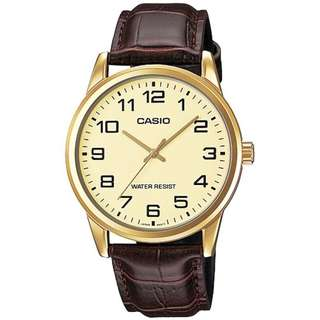Casio MTP-V001GL-9B Brown Leather Watch for Men - COD FREE SHIPPING