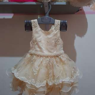 baby girl dress - baby apparel - baju pesta bayi