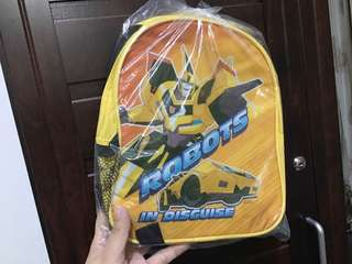 Toys r Us Transformers Backpack