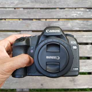 CANON EOS 5D MARK II with 50mm F1.8 STM DSLR! 58K SC