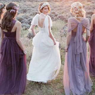 Wedding Gown / Bridesmaid dress / engaged dress / evening gown / prom dress