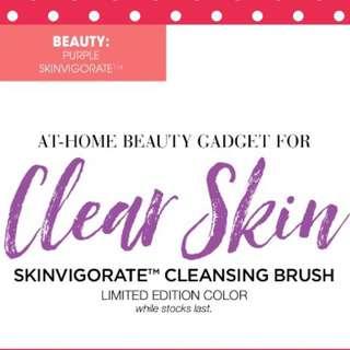 Limited Edition Skinvigorate Brush Set Promo