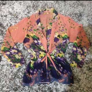 Pink Flower Outer