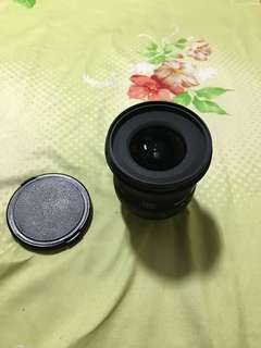 Sigma 10-20mm wide angle lense