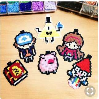 Gravity Falls Hama Bead Designs