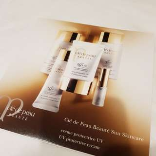 clé de peau UV protective cream sample