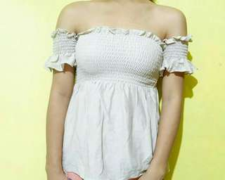 Offshoulder with Wide Bottom