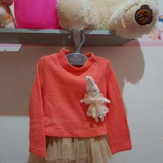 baby dress - baby girl apparel - baju bayi perempuan