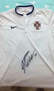 Ronaldo signature jersey