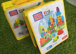 Fisher Price Mega Block First Builder