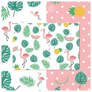 Pink Flamingo Macbook Decal Sticker