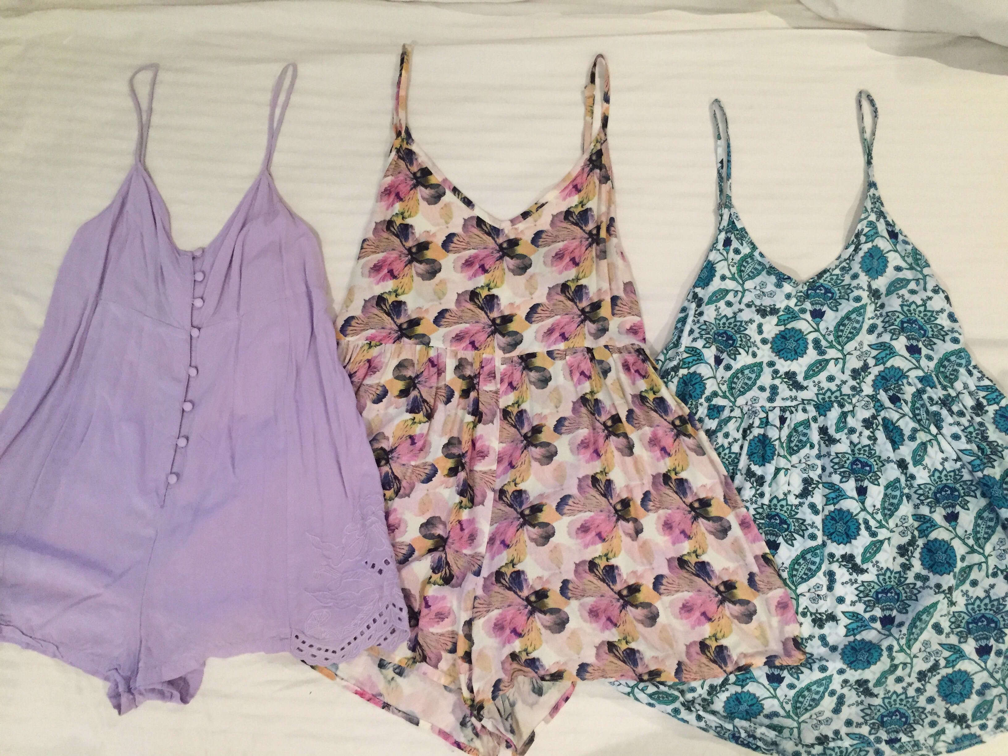 2 X Playsuit and 1 X Dress Sizes 6 8