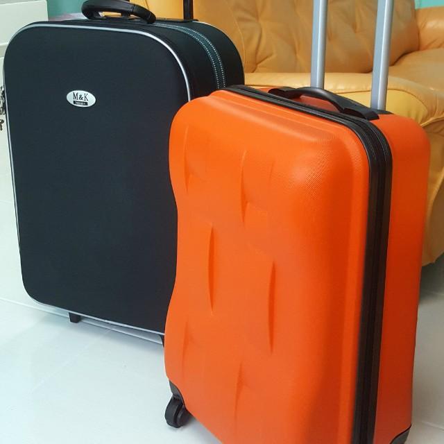 九成新行李箱(登機箱)*3  SIZE 20~22吋