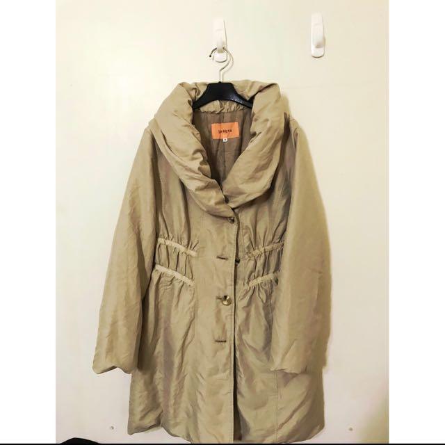 日本帶回原價6280 保暖日本鋪棉喔 M小L可 超顯瘦版型 日本寒帶國家 外套又輕又暖喔 大推薦單品❤️