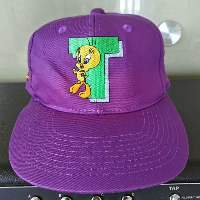 90s vintage tweety bird hat