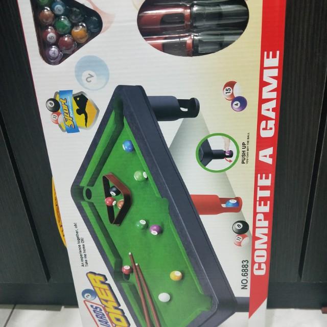 撞球玩具組