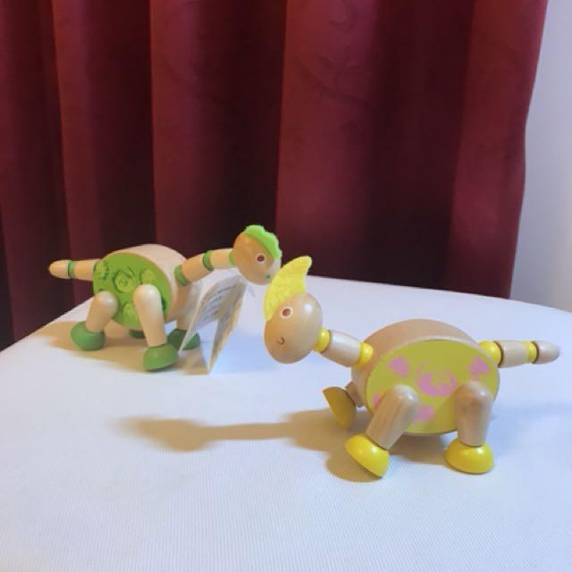 木製小恐龍