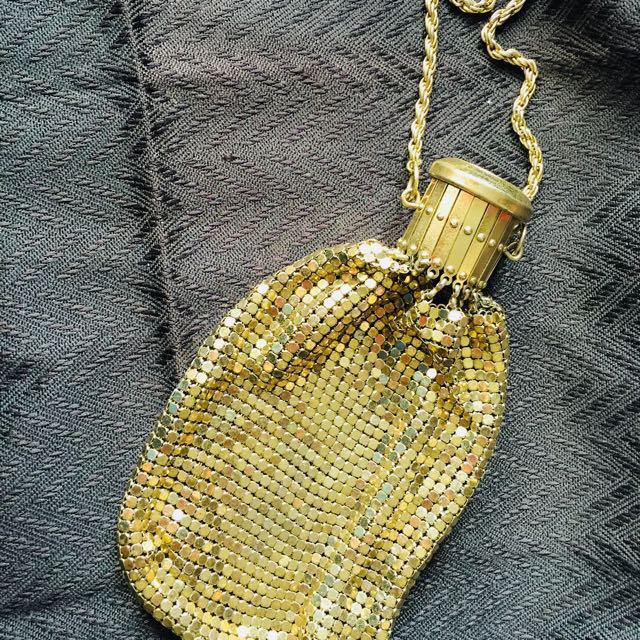 酒瓶亮片 縮口零錢袋