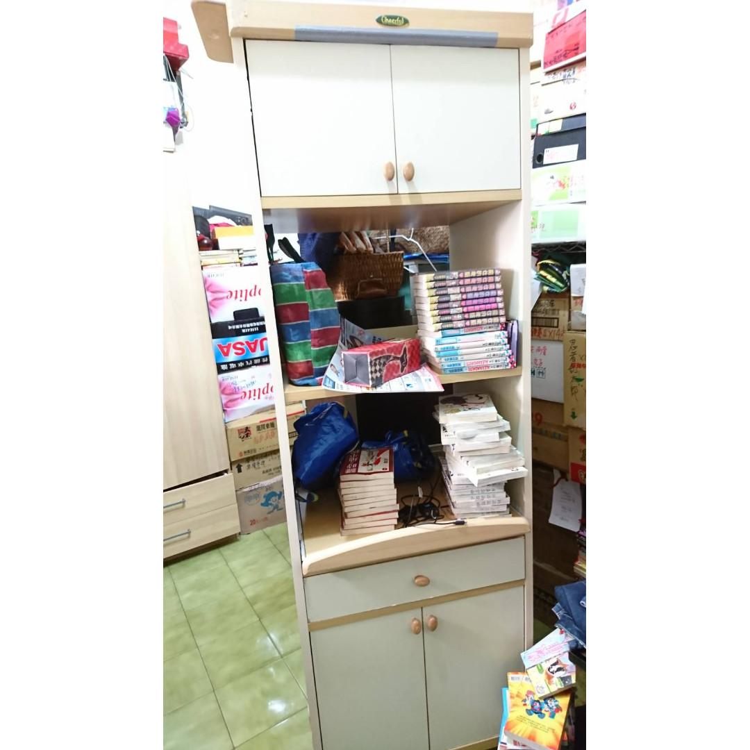 廚房電器收納櫃   廚房好幫手  2手如圖(不含架上其他商品)