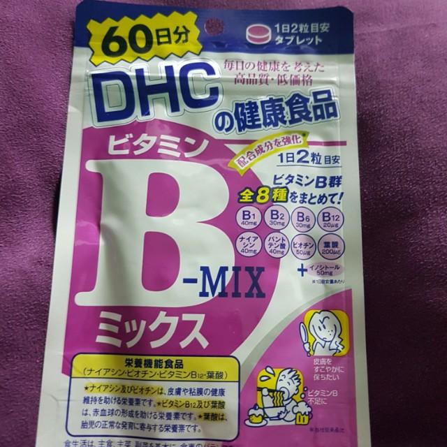 日本帶回 DHC維他命B群(60日份/120粒)