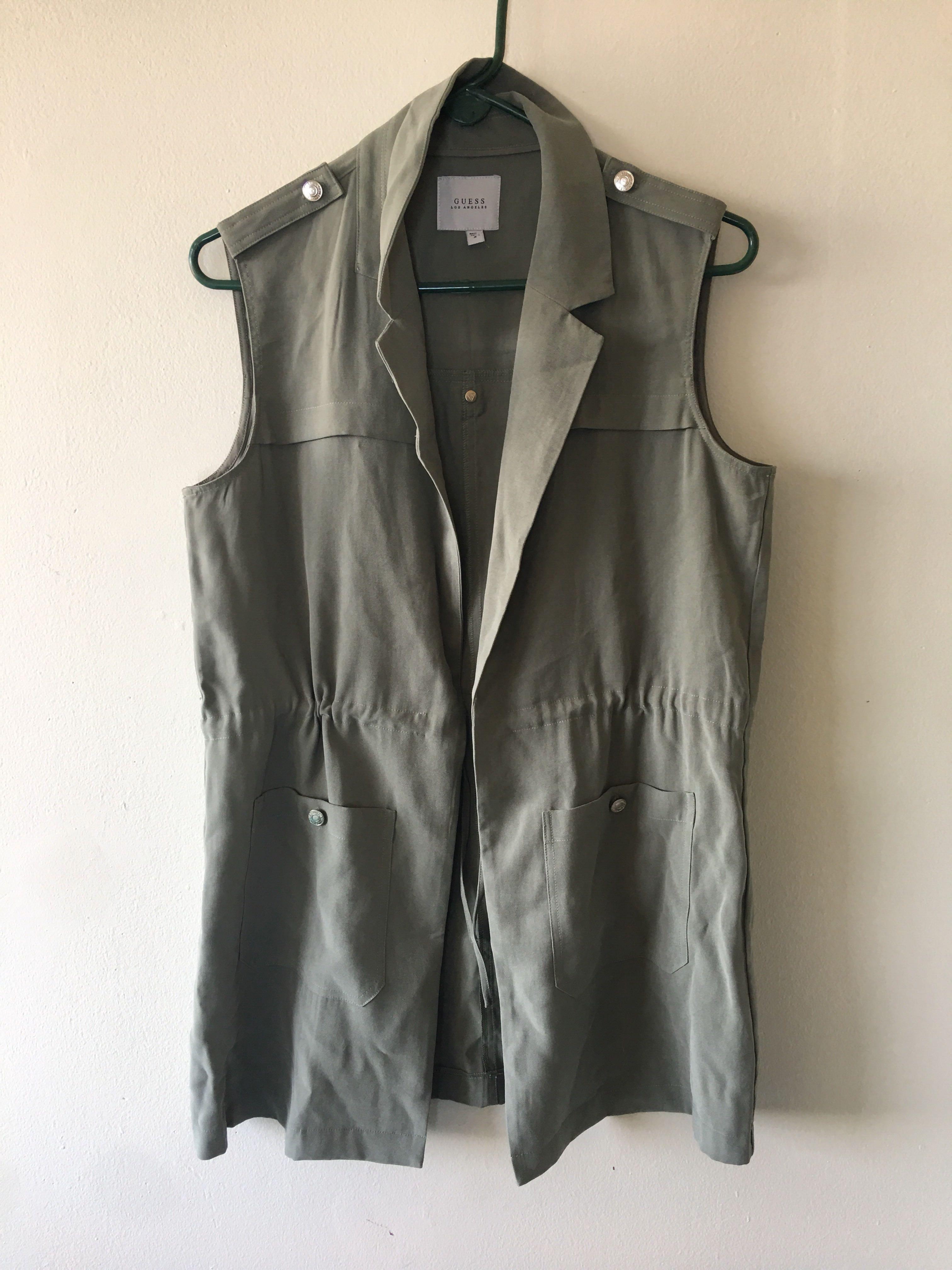 ⚫️ MEDIUM Long GUESS Vest