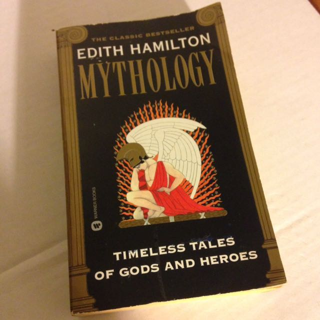 #出清課本 Mythology 外文系用書